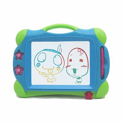 Wishtime Doodle Sketch Learning Toy Erasable Colorful Magnetic Drawing Board