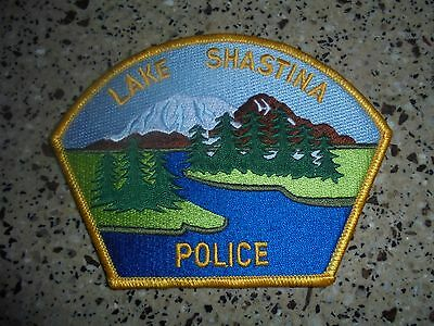 Brand New Lake Shastina Police Patch. LOOK