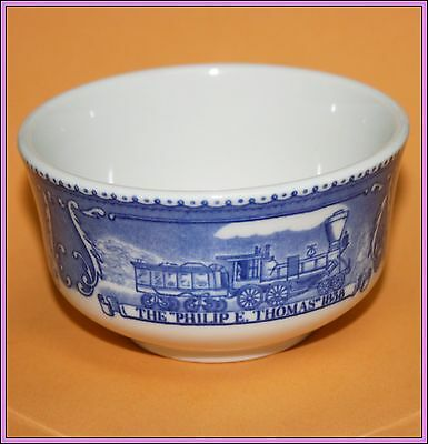 Vintage Antique B&O Railroad Train Shenango China Custard Cup Baltimore & Ohio M