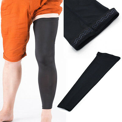 Cooling Sports Cover Leg Knee Protector Gear Basketball Black Men #chicnews