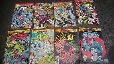 MArvel Annuals bulk lot of 8 comics - Spider-Man Punisher