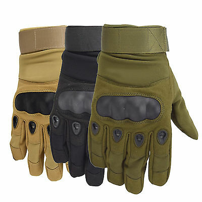 Outdoor Sport Camping Military Tactical Antiskid Hunting Paintball Army Gloves