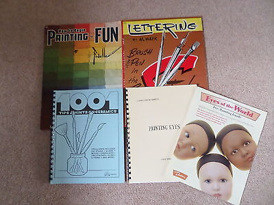 Painting Eyes 1001 tips & Hints Paint Ceramics Lettering Fun Painting Books