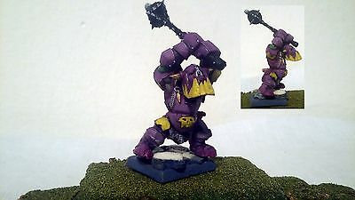 warhammer Black Orc (2), partialy clone into resing, propinted