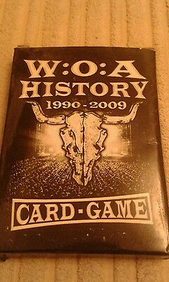 Wacken open air WOA history card game heavy metal