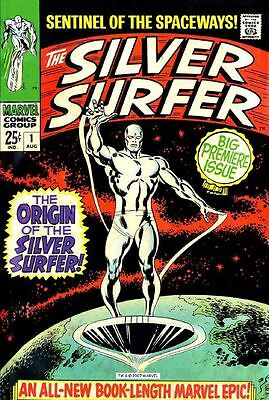 Silver Surfer Comic Collection  vol. 1 - vol. 6 230 Issues + 9 Annuals on DVD