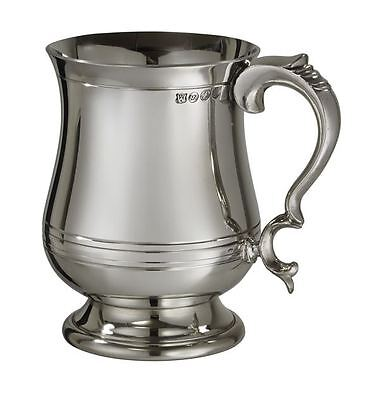 1 Pint X-Range Georgian Pewter Tankard with Free Engraving