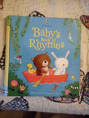 Baby Book of Rhymes by Usborne