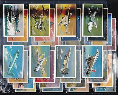 Wills Modern Issue - Embassy, World Of Speed, Set Of 36 Issued In 1981. Exc.