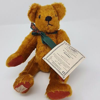 "DEAN'S RAG BOOK CO. Limited Edition ""HUMPHREY"" Teddy Bear 11 Inches #2225"