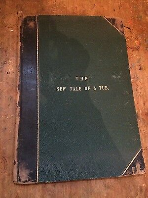 The New Tale of a Tub (1841) antiquarian children's picture book