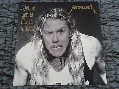 Metallica – You're Gonna Like It Fuckers 1990 GER Rare Clear Vinyl Live Bootleg