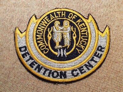 KY Kentucky State Detection Center Patch