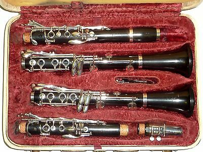 Pair of Boosey & Hawkes SYMPHONY 1010 A & Bb Clarinet