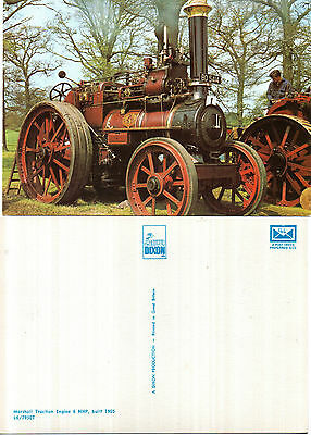 1905 Marshall Traction Engine 6 Nhp Unused Colour Postcard By Dixon L6 / 7950 T