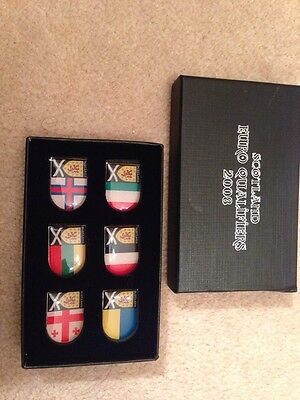 Scotland Supporters Club 2008 Qualifier Badges Pins