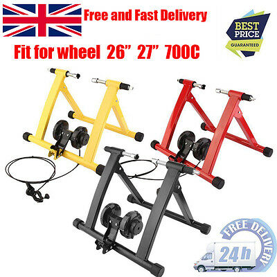 HOT Turbo Trainer Magnetic Indoor Bike Trainer for Road/Mountain Bicycle