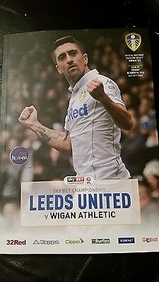 Leeds United V Wigan Athletic Programme