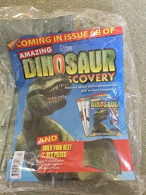 Natural History Museum Dinosaur Discovery Magazine Issue 67