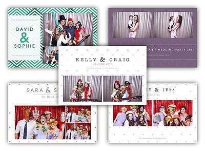 Photo Booth Templates Prints - Digital DownLoad Only - 5 X Colletions in 1