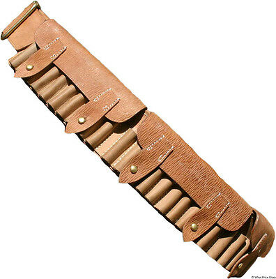 UK Boer War Pattern Leather Bandolier ( Tusken Raiders / Stars ) Wars) )