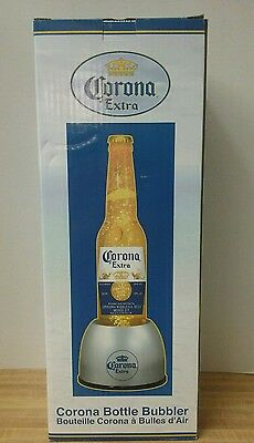 "Corona Extra Beer 20"" Bottle Bubbler Light Up Bubbling Motion Sign Display Lamp"