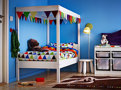 IKEA OVRE Childrens Multi Colored Bed Canopy 70 X 160 cm Discontinued Item