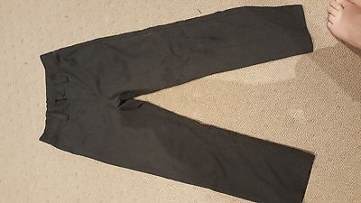 Boys grey school pant size 11