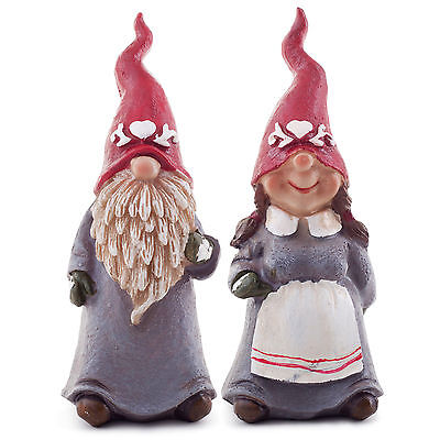 Latex Rubber Mould Mold Molds Pair Of Woodland Gnomes