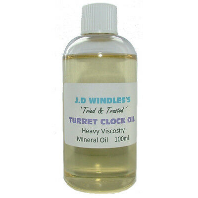 Windles Turret Clock Oil