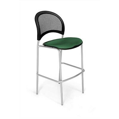 OFM Moon CafT Height Chair, Forest Green
