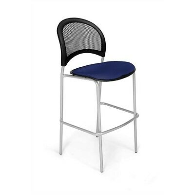 OFM Moon CafT Height Chair, Charcoal