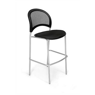OFM Moon CafT Height Chair, Black