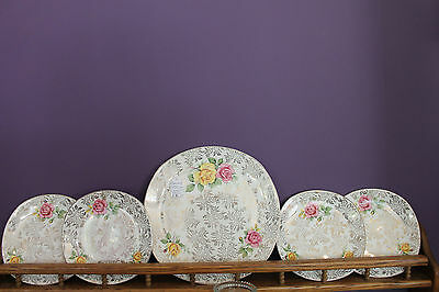 Vogue Tableware By H Aynsley & Co. Serving Plate And 4 Dessert Plates