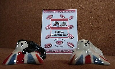 Wade - Bulldog Whimsie Pair - Limited Edition 200