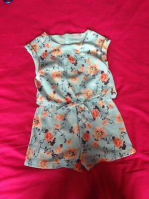 Aged 7 Girls Play suit