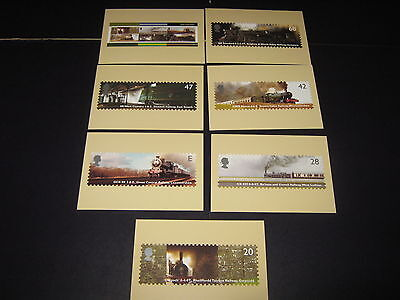 Post Office PIcture Postcard Series Stamp full sets collections