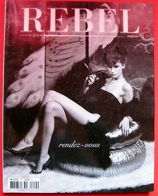 Irina Ionesco Rebel Magazine N°4 Tilda Swinton Robert Evans Jock Sturges Mode