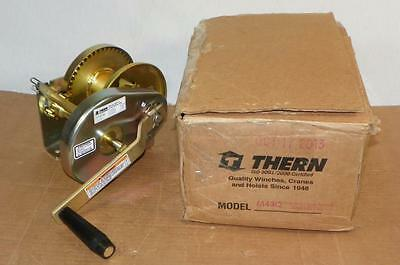 THERN Hand Winch M4312 Spur Gear 2000 lb. FAST SHIPPING