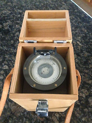 Wheems hand bearing compass - vintage