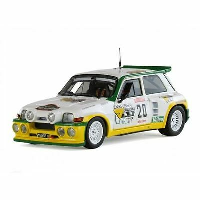 Solido Diecast Model - 1986 PH. Touren Renault Maxi 5 Turbo Car - 1:18 Scale