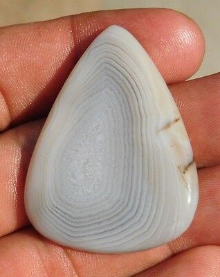 62.6 Cts Magnificent 100% Natural Botswana Agate 46X35 Loose Cabochon Gemstone