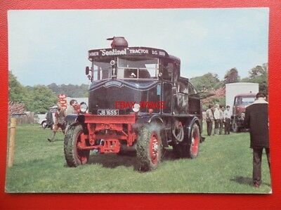 Postcard Sentinel Timber Tractor No 8777 Old Bill Built 1933