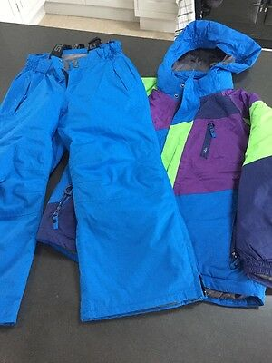 Surfanic Kids Childrens Ski Jacket & salopettes Suit Age 7-8 yrs