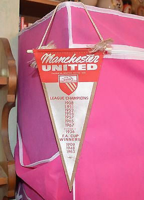 Manchester United Fc Honours Pennant