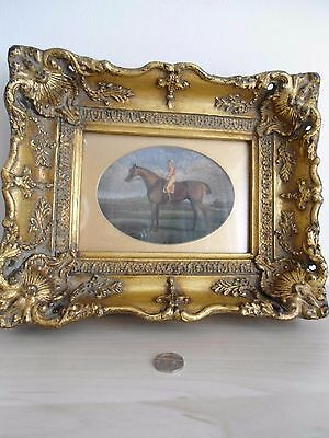 Fabulous Carvers and Gilders framed Race horse picture