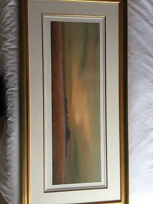 Lawrence Coulson Signed Limited Edition Print Framed Fading Light 48 Of 295