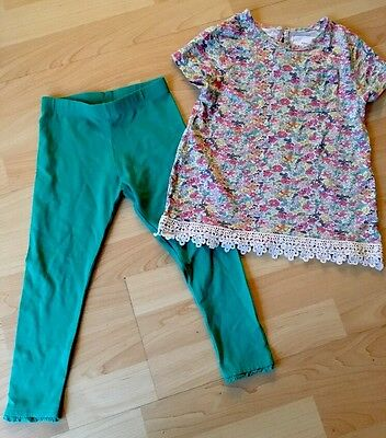 Beautiful Little Girls Next Top & Leggings Outfit Set Age 2 - 3 Years