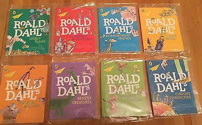 BNIP Complete set of  8 Roald Dahl McDonalds Happy Meal Books new and sealed