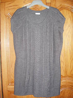 Pull Tunique Robe Tricot Femme Taille 52/54    Neuf